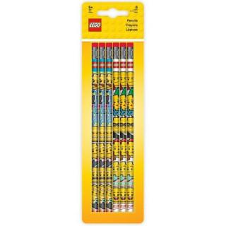 LEGO Iconic Tužka grafitová s gumou - 6 ks