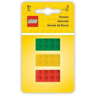 LEGO Iconic Guma LEGO kostky 2x4 - 3 ks