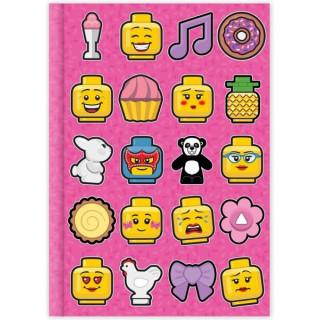 LEGO Iconic Deník - růžový