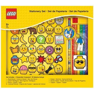 LEGO Iconic Stationery Set se zápisníkem a náplní