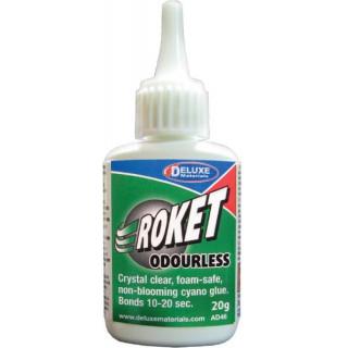 Roket Odourless vteřinové lepidlo foam-safe 20g
