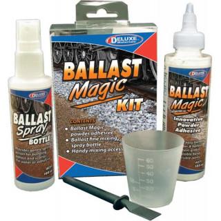 Ballast Magic práškové lepidlo pro model. železnici (sada)