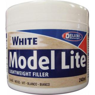 Model Lite White lehký tmel na dřevo bílé barvy 240ml