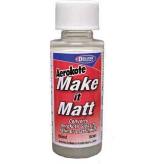 Make it Matt přípravek pro zmatnění laku Aerokote 50ml