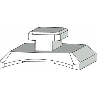 Klima Vodící jezdec pro kolejnici 5mm (2)