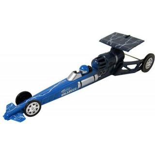 Estes - Blurzz Dragster s raket. pohonem modrý