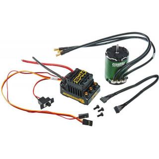 Castle motor 1406 5700ot/V senzored, reg. Sidewinder 4