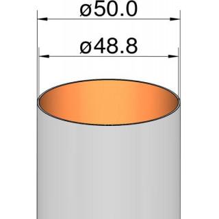 Klima Papírová trubka 50mm / 250mm