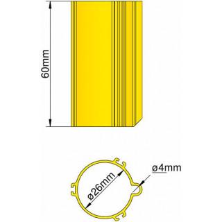 Klima Základna 26mm 3-stabilizátory žlutá