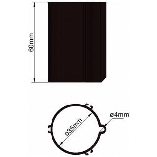 Klima Základna 35mm 3-stabilizátory černá