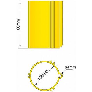 Klima Základna 35mm 3-stabilizátory žlutá