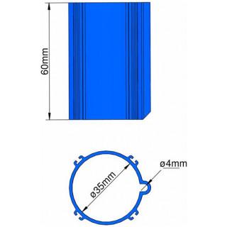 Klima Základna 35mm 4-stabilizátory modrá