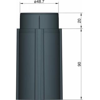 Klima Základna 50mm 3-stabilizátory černá