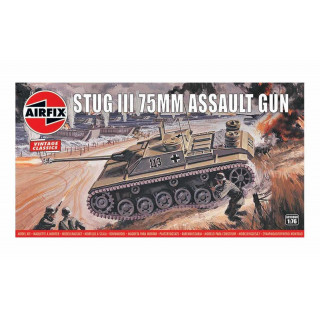 Classic Kit VINTAGE military A01306V - Stug III 75mm Assault Gun (1:76)