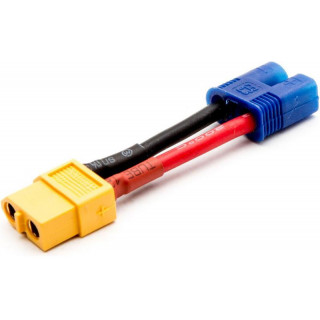 Konverzní kabel XT60 samice - EC3 přístroj