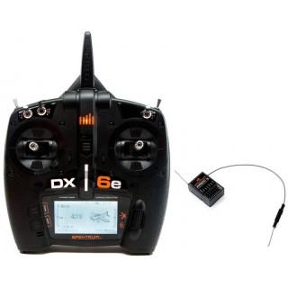 DX6e DSMX Spektrum, AR610 Mód 1-4