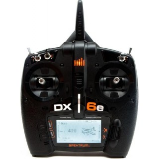 DX6e DSMX Spektrum pouze vysílač Mód 1-4)