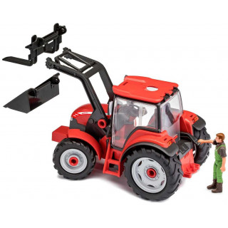 Junior Kit traktor 00815 - Tractor with loader incl. figure (1:20)