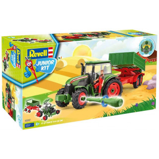 Junior Kit traktor 00817 - Tractor & Trailer incl. figure (1:20)