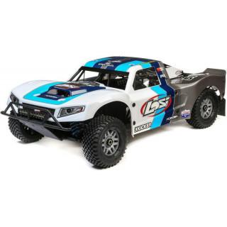 Losi 5ive-T 2.0 1:5 4WD SCT BND šedá/modrá/bílá
