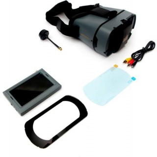 "Spektrum - Video monitor 4.3"" s headsetem"