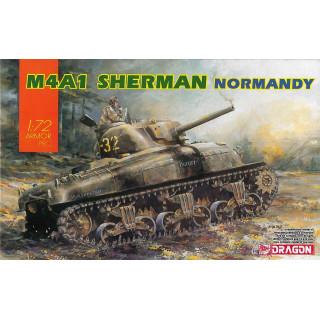 Model Kit tank 7568 - M4A1 SHERMAN (1:72)