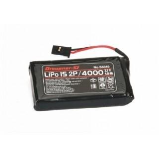 Vysílačový pack, LiPo 1SxP/4000 3,7V TX