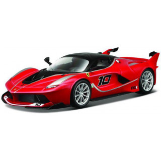 Bburago Ferrari FXX K 1:18 červená metalíza