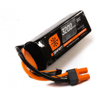 Spektrum Smart LiPo 3200mah 6S 22.2V 30C IC5