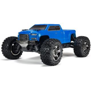 Arrma Bigrock Crew Cab BLX 1:10 4WD RTR modrá