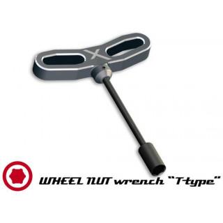 Nástrčkový klíč na matice kol CNC PRO 10mm