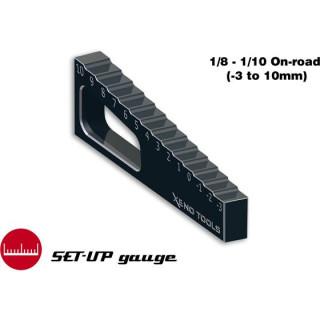Měřidlo propadu ramen 1:8-1:10 (-3mm až +10mm)