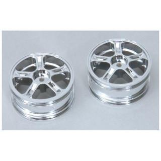 CEN - Disky kol 5 paprsků - stříbrné (2)