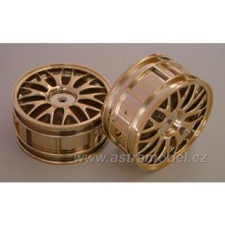 CEN - Disky kol 10 paprsků zlaté (2)