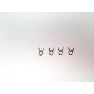 Klipy palivové hadičky 6.5mm (4)