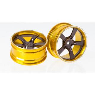 Killerbody Camaro 2011 1:10 - hliníkové disky kol šedé (2)