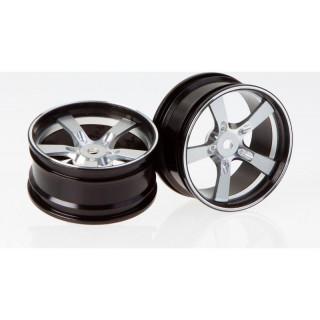 Killerbody Camaro 2011 1:10 - hliníkové disky kol stříbrné (2)