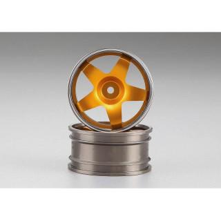 Killerbody Alfa Romeo 75 Turbo 1:10 - hliníkové disky kol zlaté