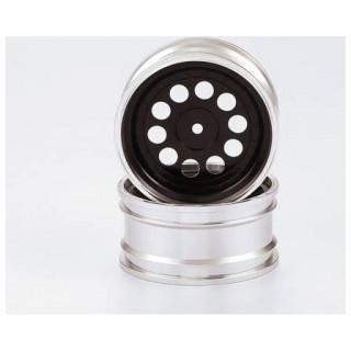 Killerbody Alfa Romeo SZ 1:10 - hliníkové disky kol černé