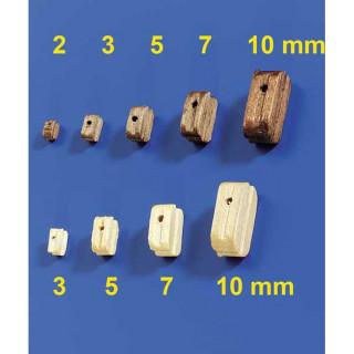 Krick Blok lanoví světlý 7mm (10)