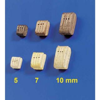 Krick Blok lanoví trojitý světlý 5mm (10)