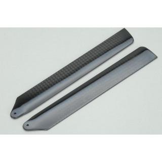 Ripmax rotorové listy uhlíkové 140mm