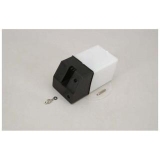 Palivová nádrž čtvercová 420ccm černá