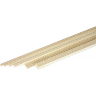 Broušený smrkový nosník 2x2mm (1m)