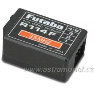 Futaba přijímač 4k R114F 35MHz FM