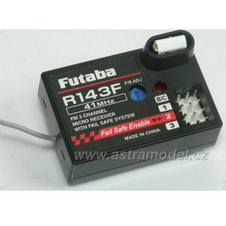 Futaba přijímač 3k R143F 27MHz FM