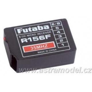 Futaba přijímač 6k R156F 35MHz FM