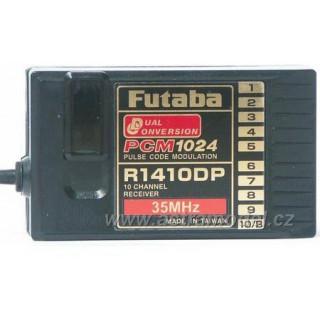 Futaba přijímač 10k R1410DP 35MHz PCM