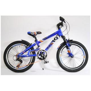 """DINO Bikes - Dětské kolo 20"""" Aurelia Fast Boy odpružené modré"""