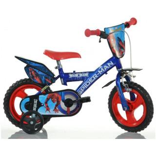 """DINO Bikes - Dětské kolo 12"""" Spiderman Home"""